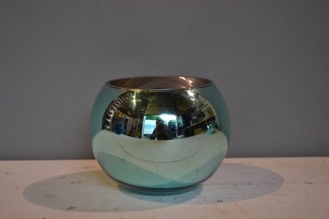 Turquoise Goldfish Bowl 15cm