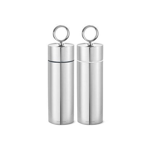 Georg Jensen Bernadotte Salt and Grinder Set - Stainless Steel