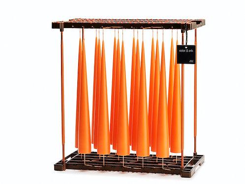 Ester & Erik Orange Cone Candle - 16 - 34cm - Matt