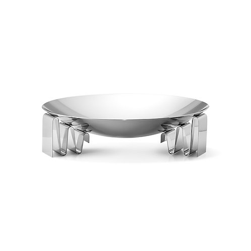Georg Jensen Frequency Bowl Large - Stainless Steel