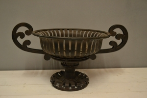 Ornate Metal Urn