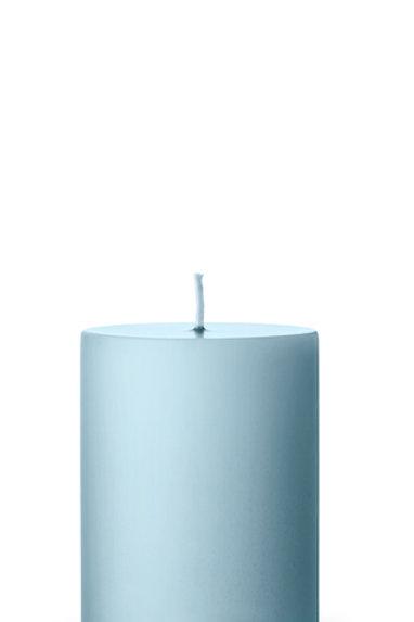 Ester & Erik Blue Baby Light Pillar Candle 59 - 10cm - Matt