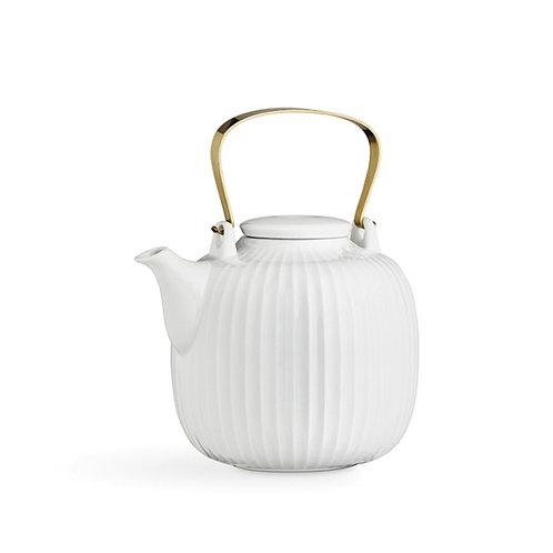 Kahler Hammershøi Teapot - White - 1.2L