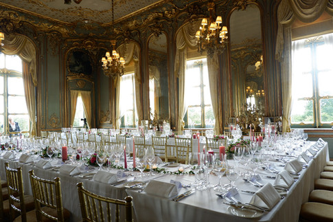 French dining room - Cliveden - Ester & Erik candles supplied by Scandinavian Homeware