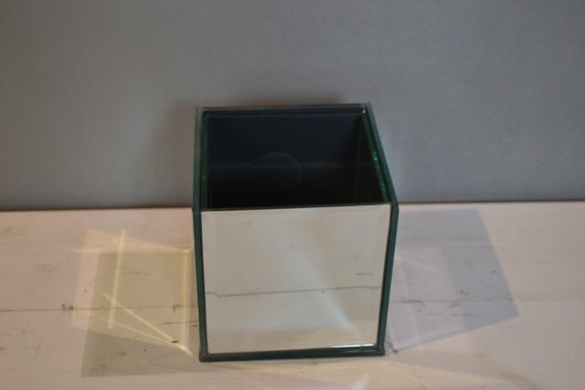 Mirrored Cube  12cm