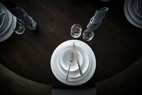 Georg Jensen Cobra table setting - blomster designs uk stockists