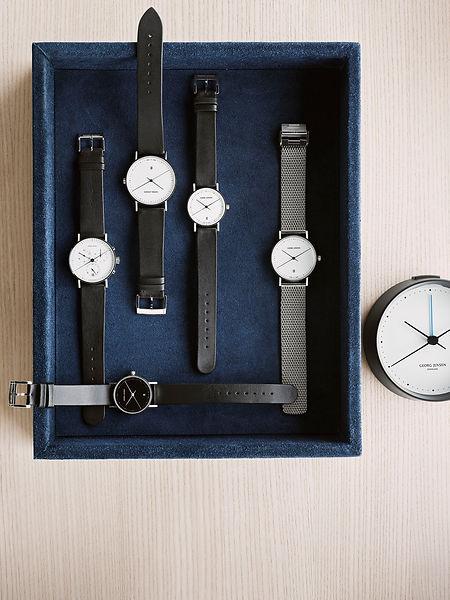 Georg Jensen Henning Koppel Watches - blomster designs - uk stockists