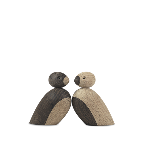 Kay Bojesen's pair of sparrows - 2 pcs in Oak