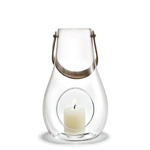Holmegaard Design with Light - Glass Lantern - 25cm
