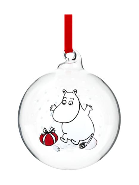 Moomin Christmas Decoration Ball - Moomin - 7cm