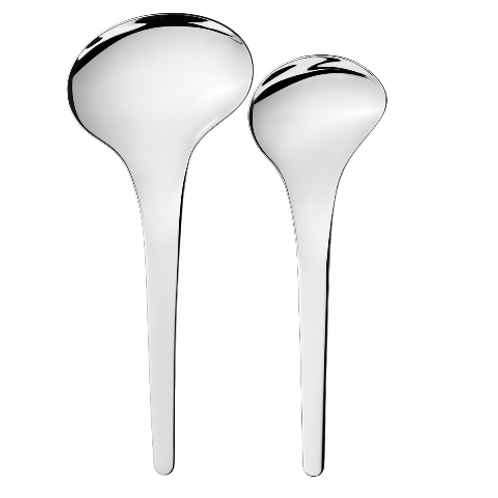 Georg Jensen Bloom - set of 2 pieces, 1 x small and 1 x large