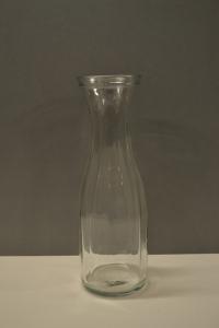 Milk Bottle Glass Vase