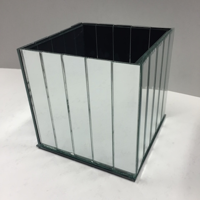 Mirrored Cube Slatted