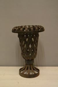 Ornate Metal Urn