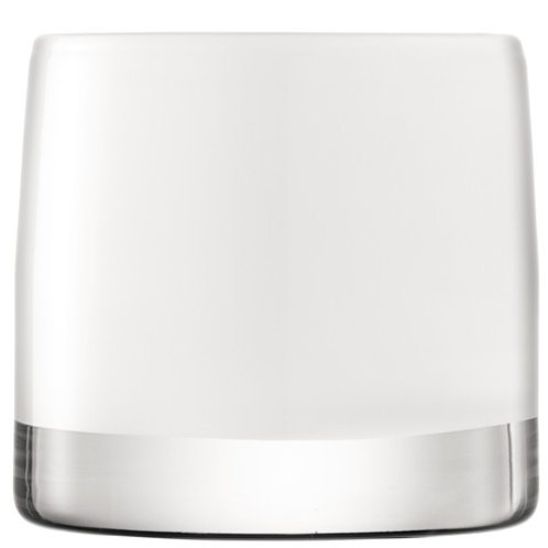 Lsa Light Colour Tealight Holder H8.5cm White