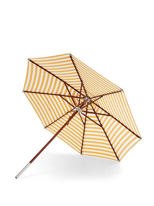 Skagerak Messina Umbrella Ø270 - Golden Yellow Stripes