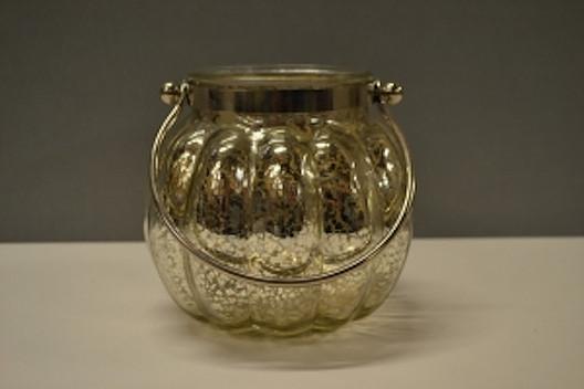 Gold Vintage Pumpkin Lantern