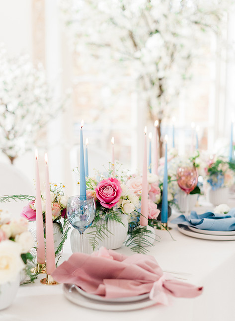 Pink or Blue? An Elegant Baby Shower For The Royal Baby