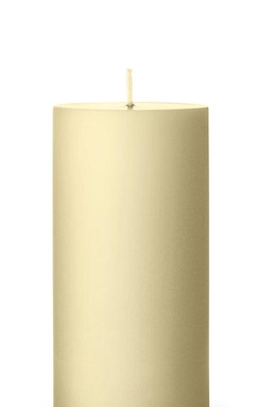 Ester & Erik Yellow Light Pillar Candle 17 - 15cm - Matt
