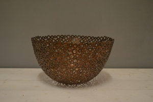 Holey Metal Bowl