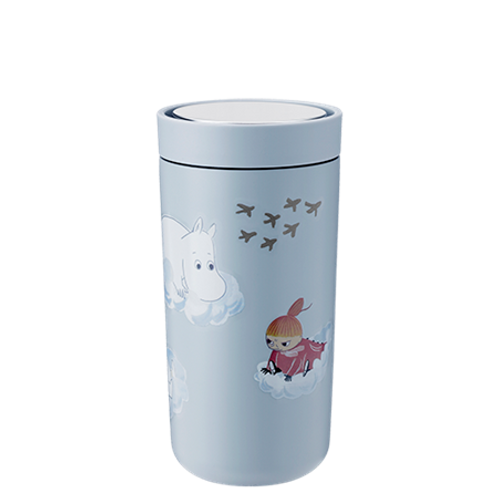 Stelton To Go Click 0.4L - Soft Cloud - Moomin