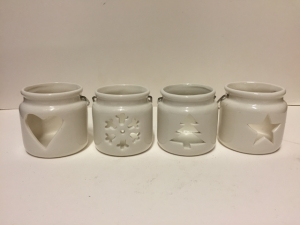Small Ceramic Christmas Pots
