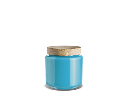 Holmegaard Palet Storage Jar - Blue