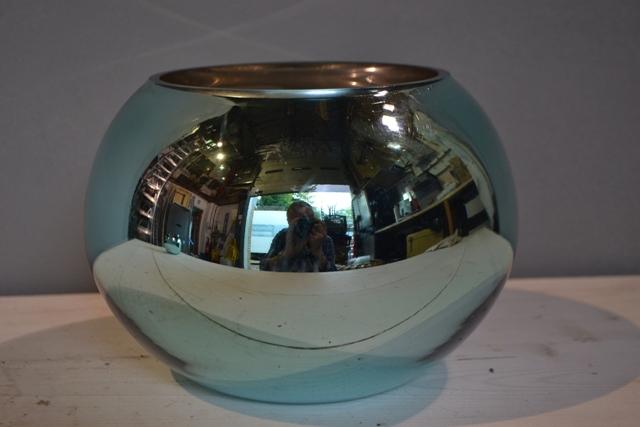Turquoise Goldfish Bowl