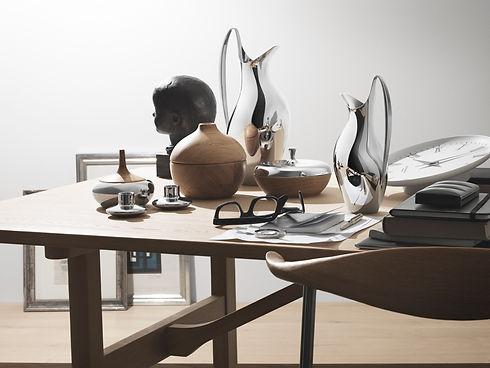 georg jensen Henning Koppel - blomster designs - uk stockists