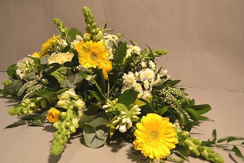 Yellow Gerbera & Rose Spray - blomster designs