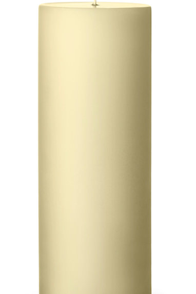 Ester & Erik Yellow Light Pillar Candle 17 - 20cm - Matt