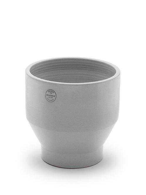 Skagerak Edge Pot Ø35, with a drainage hole - Light Grey