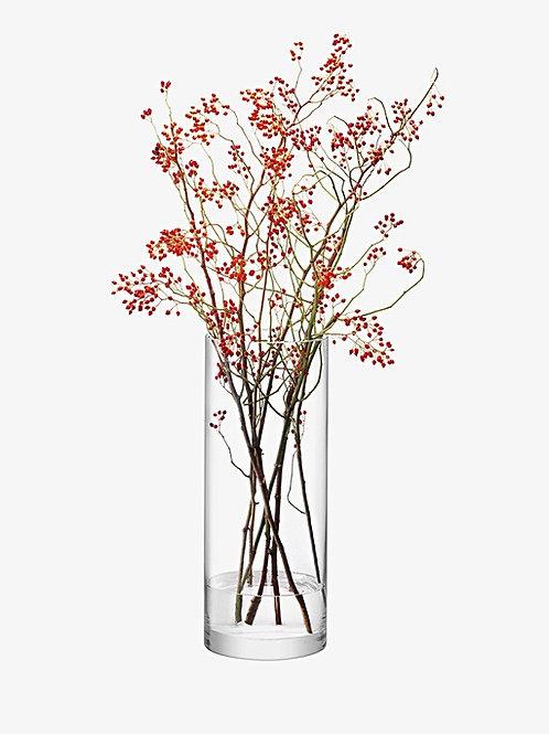 LSA Column Giant Column Vase H50cm Clear