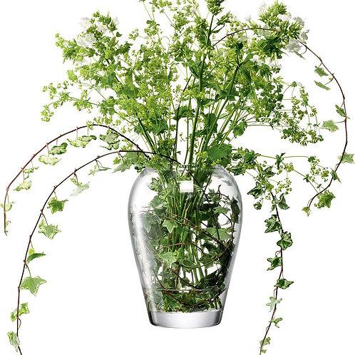 LSA Garden Vase H25cm Clear