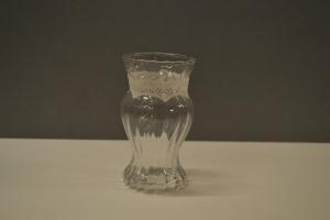 Convoluted Glass Vase