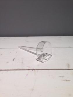 Short Glass Tealight Holder