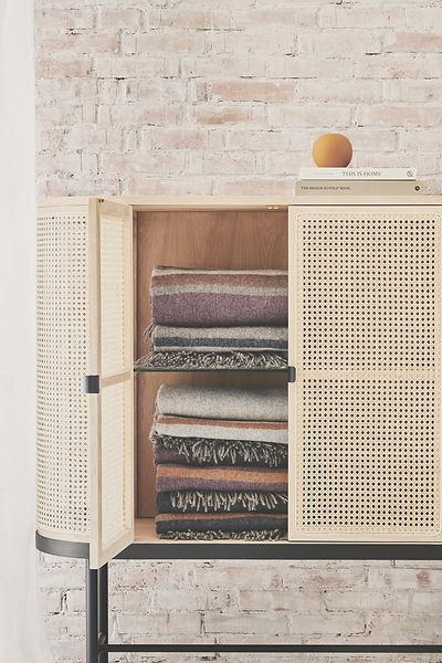 Heg and Mller - Silkeborg Uldspinde - alpaca blankets and scalves - blomster designs - uk stockists