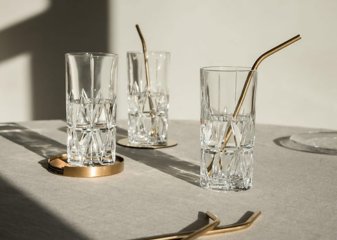 Orrefors glassware - Peak-Martti-Rytk - blomster designs - uk stockists
