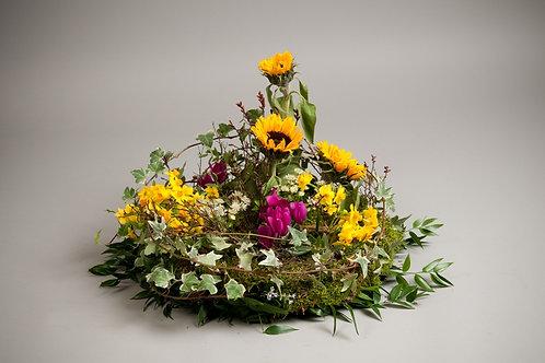 Inspired Garden Arrangement - funeral flowers