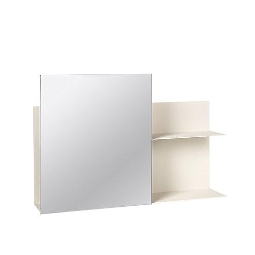 Broste Copenhagen wall shelf with mirror- Svante