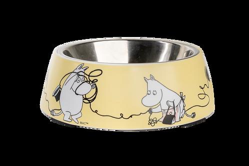 Moomin Pets - Food Bowl - Medium Yellow