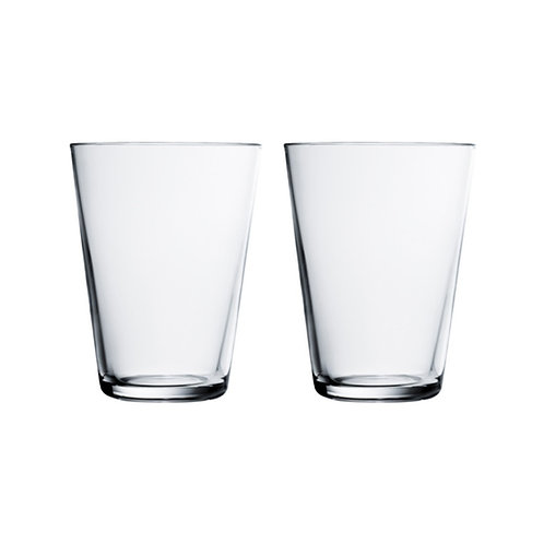 iittala Kartio Tumbler - Clear - 40cl - 2 pieces