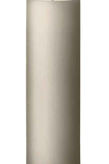 Ester & Erik Grey Linen Pillar Candle 22 - 20cm - Matt