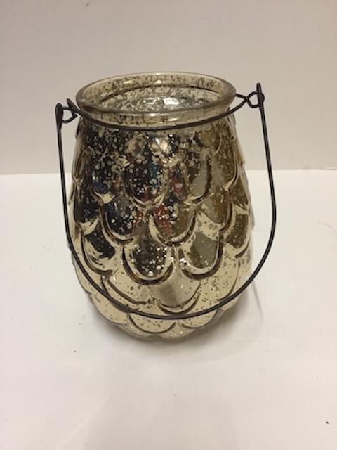Vintage Light Gold Vase
