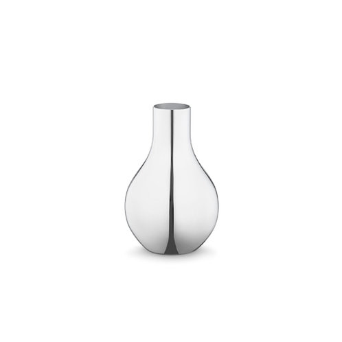 Georg Jensen Cafu Vase - Stainless Steel - Extra Small