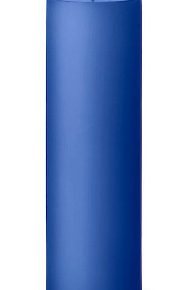 Ester & Erik Blue Cornflower Pillar Candle 48 - 20Cm - Matt