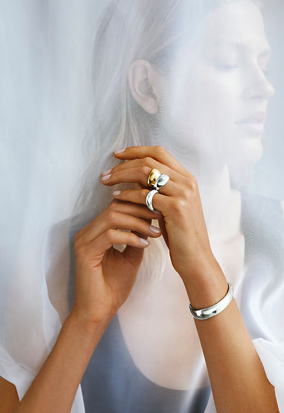 Georg Jensen Jewellery - Blomster designs - uk stockists