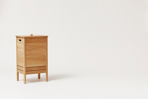 Form and Refine, A Line Laundry Box, Oak