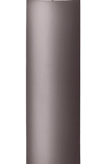 Ester & Erik Grey Dark Zinc Pillar Candle 09-2 - 20cm - Matt