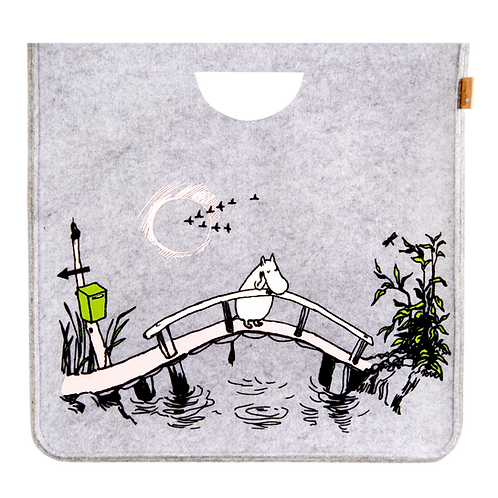 Moomin Originals Storage Basket - Missing You - Large